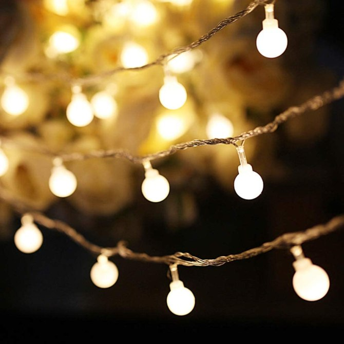 STYLECASTER | How to Set the Mood | string lights