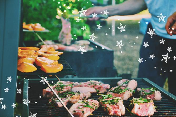 STYLECASTER   Virtual Barbecue Ideas