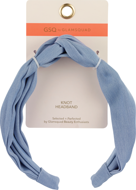 gsq by glamsquad knot headband denim 39 New Drugstore Beauty Products to Grab On Your Next Errand Run