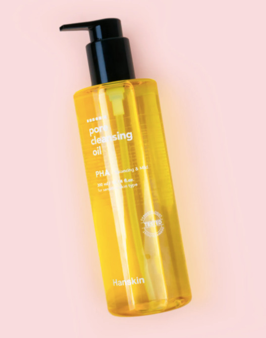 hanskin pore cleansing oil