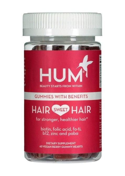 HUM Nutrition Hair Sweet Hair Growth Vegan Gummies