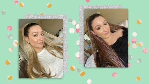 These Ponytail Extensions Are My Quick Secret To Looking Glam on Zoom | StyleCaster