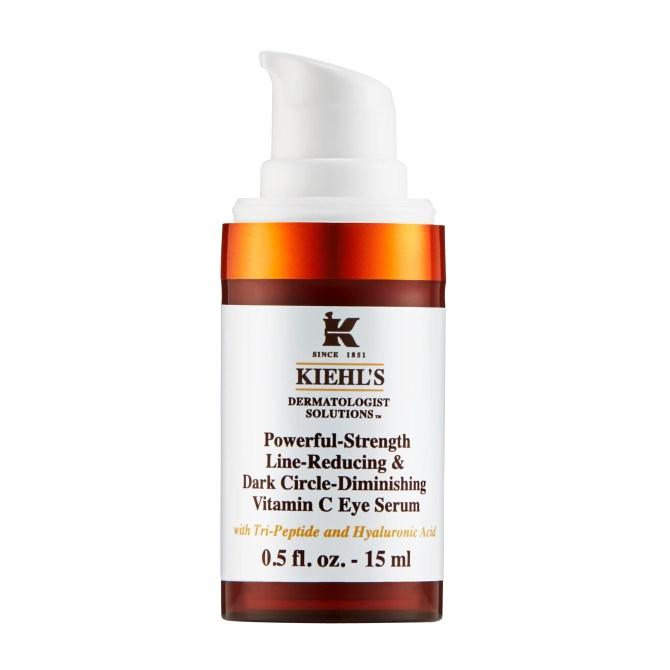 Kiehls Eye Cream Powerful-Strength Dark Circle Reducing Vitamin C Eye Serum