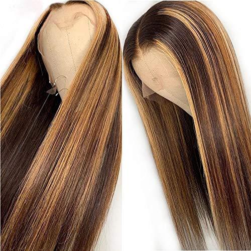 Kun Gang 13 x 6 Straight Highlight Wig