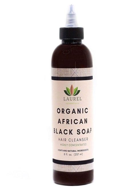 Laurel Essentials Organic African Black Soap Cleanser