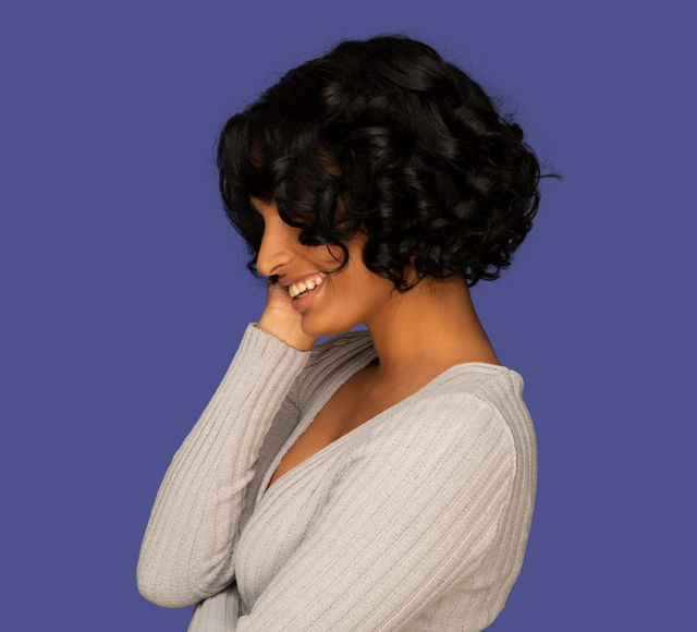Mayvenn Jazzy Jasmine Loose Wave Side Part Lace Bob Wig