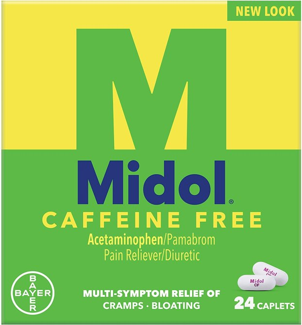 midol caffeine free 39 New Drugstore Beauty Products to Grab On Your Next Errand Run