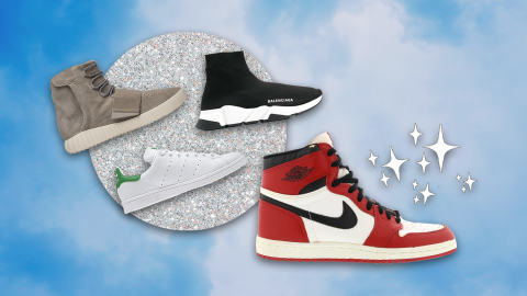 A Fashion-Lover's Take On The 13 Most Iconic Sneakers Of All Time   StyleCaster