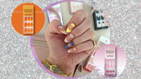 Try to Guess Which Met Gala Gown Inspired Rebecca Minkoff's New Press-On Nails | StyleCaster
