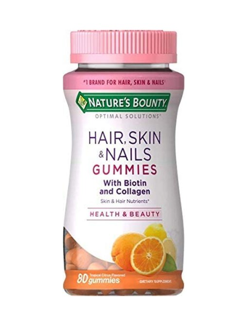Nature's Bounty Hair, Skin + Nails Gummies with Biotin and Collagen