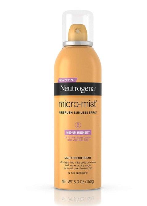 Neutrogena Micromist Airbrush Sunless Tanning Spray