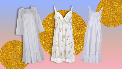 Apparently, TikTok Made Nightgowns Cool Again—Shop 13 Cute Summer Styles | StyleCaster