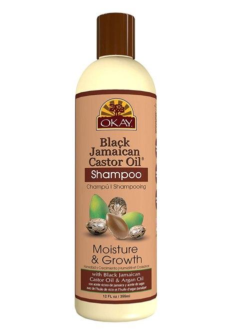 OKAY Shampoo all'olio di ricino giamaicano nero