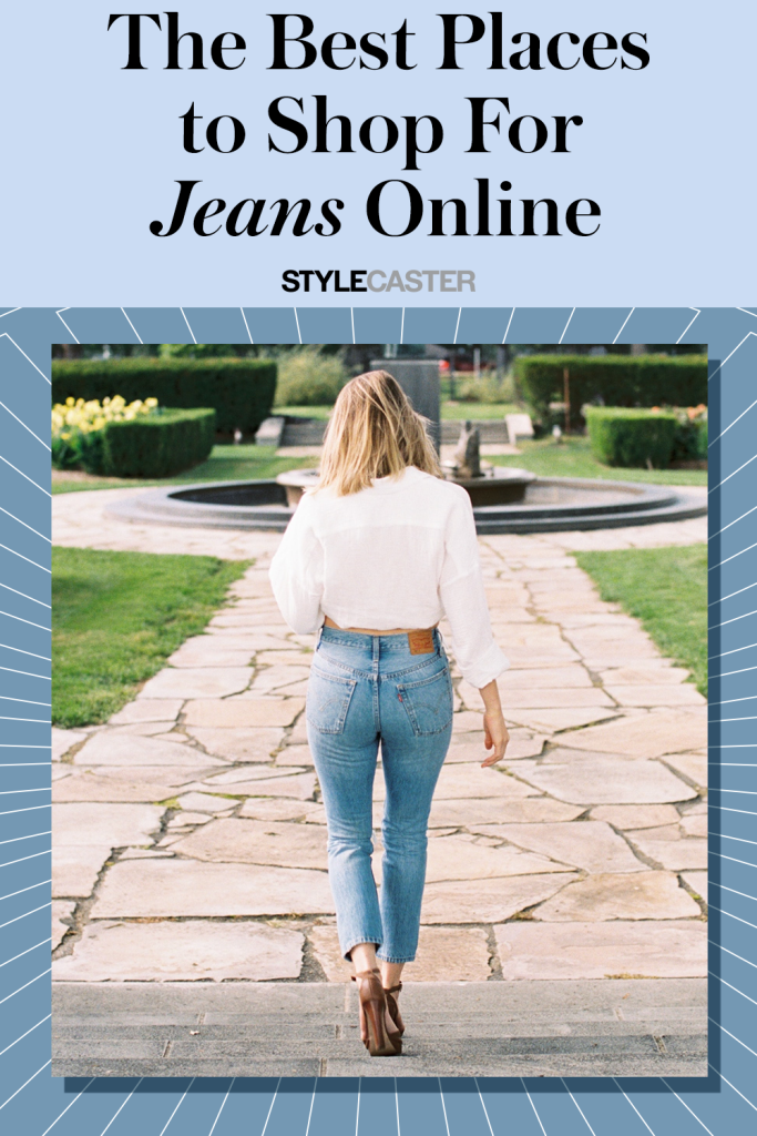 STYLECASTER | best places to shop for jeans online | online shopping jeans | best denim brands | best jeans brands | denim fashion | denim on denim | where to shop for jeans | jeans outfit | high waisted jeans | boyfriend jeans | skinny jeans | mom jeans | low rise jeans | ripped jeans |