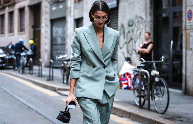 STYLECASTER | Summer 2020 Fashion Trends | oversized suiting