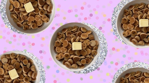 Pancake Cereal Is The Tik Tok Craze Brunch Fans Have Been Waiting For   StyleCaster
