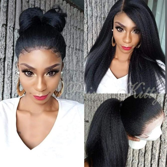 Prime Kitty Yaki Lace Front Wig