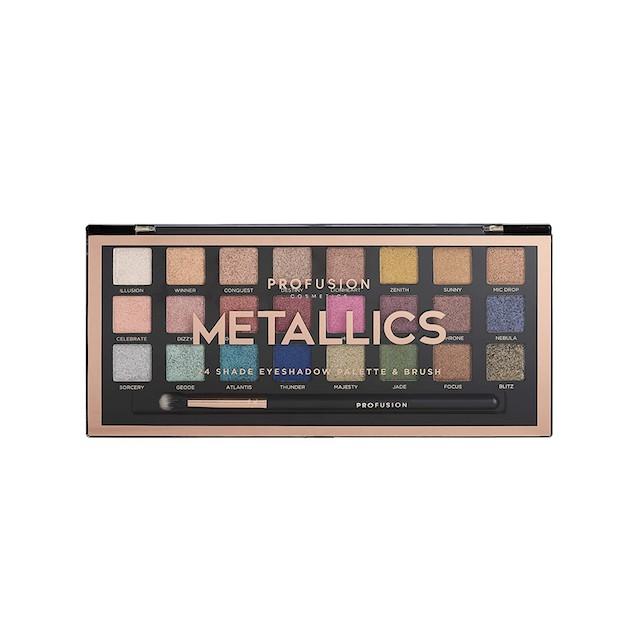 Profusion Cosmetics Metallics Eyeshadow Palette