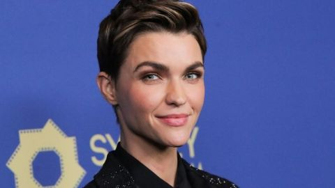 Ruby Rose Couldn't Decide Between Pink and Blue Hair so She Chose Both   StyleCaster
