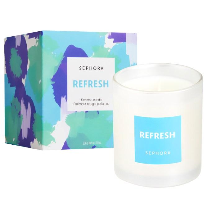 sephora refresh candle