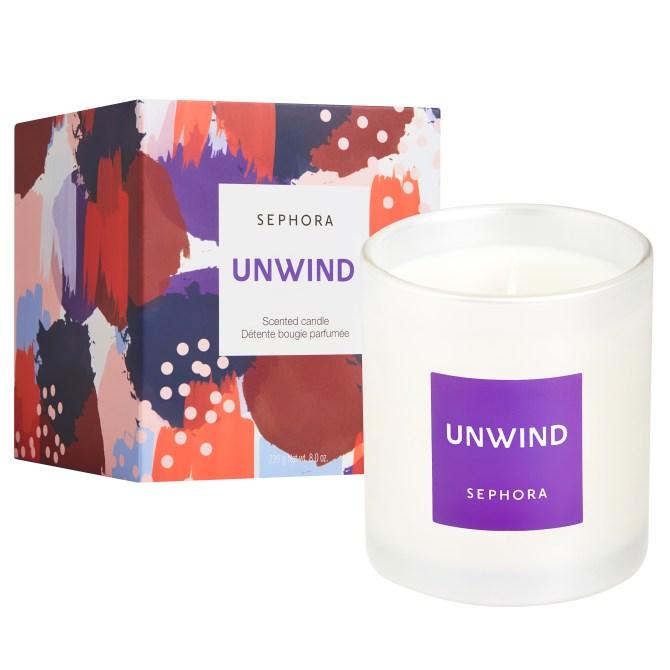 sephora unwind candle