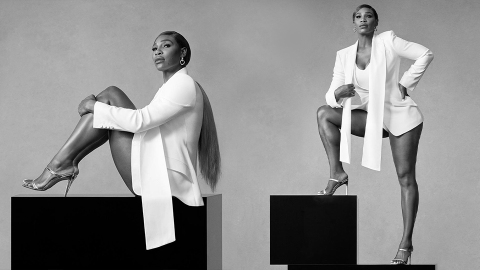 Serena Williams Slays As The Face Of Stuart Weitzman's Summer Shoe Collection | StyleCaster