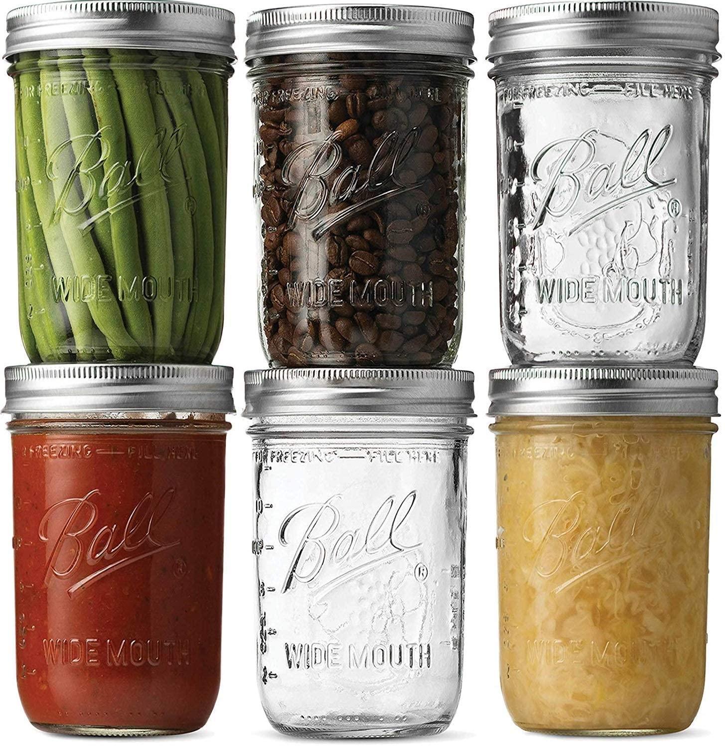 Sewants Mason jars