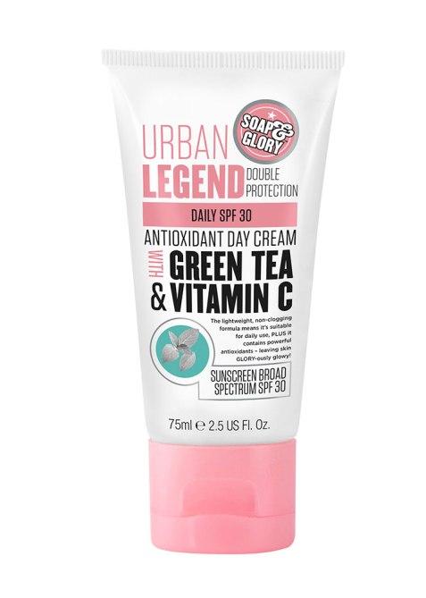 Soap & Glory Urban Legend Green Tea & Vitamin C Antioxidant Day Cream SPF 30