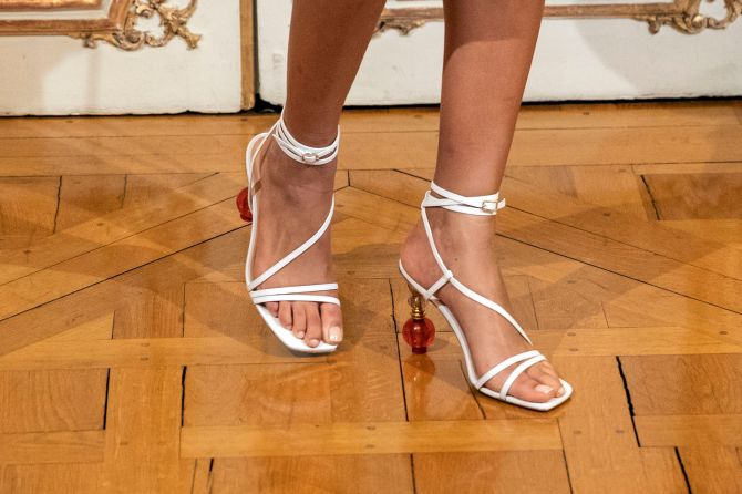 STYLECASTER | Summer 2020 Fashion Trends | strappy heels