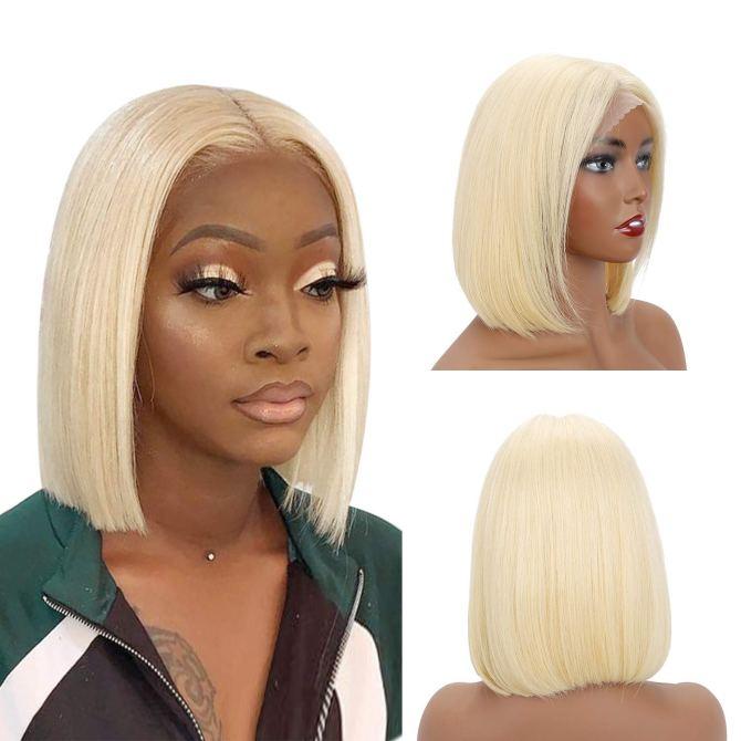 SUYYA 613 Lace Front Blonde Bob Wig