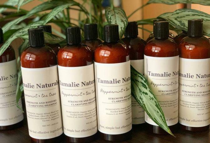 Tamalie Naturals Black Soap Shampoo