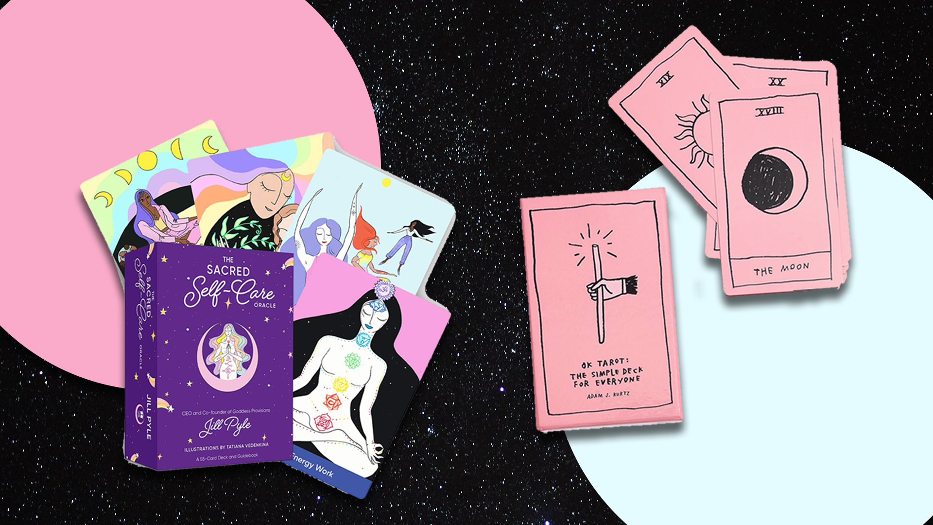 The Differences Between Tarot Cards & Oracle Cards—Plus 6 Pretty Decks To Shop Now