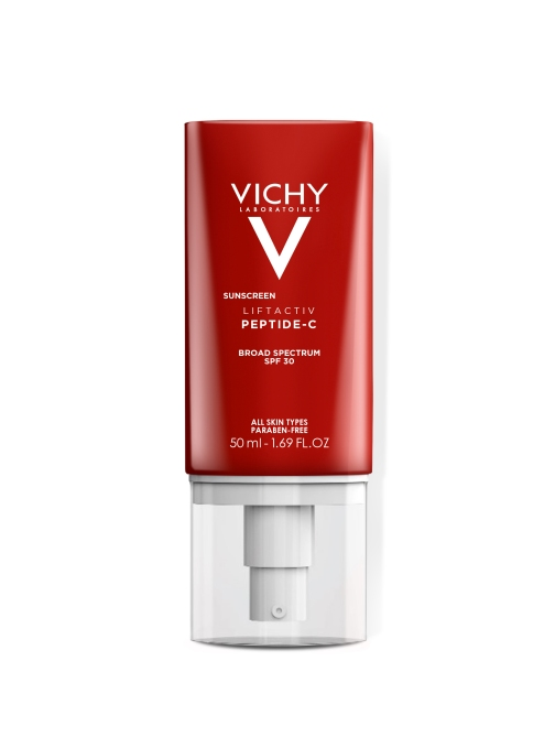 vichy liftactiv peptide c sunscreen spf 30 pack shot 39 New Drugstore Beauty Products to Grab On Your Next Errand Run