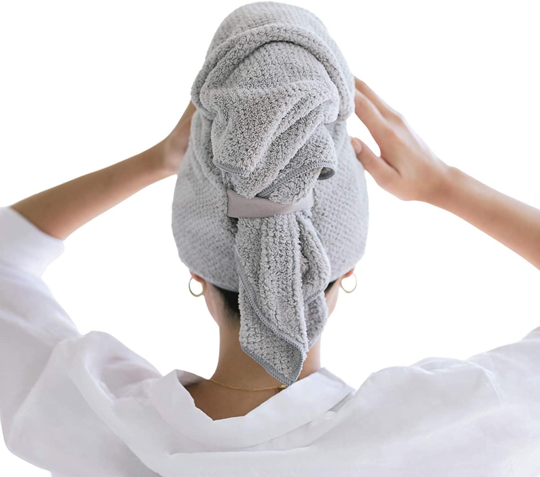 STYLECASTER    asciugamani per capelli in microfibra