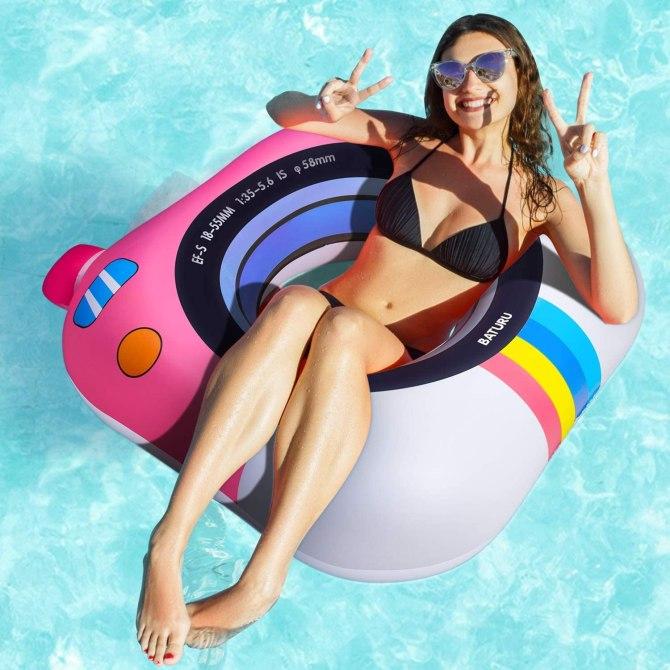 Giocattoli galleggianti per piscina con anello di nuotata per adulti
