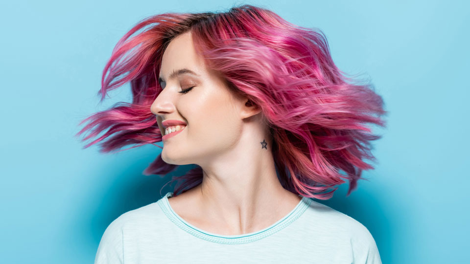 Low-Commitment Temporary Hair Color To Switch up Your Look Without Regret