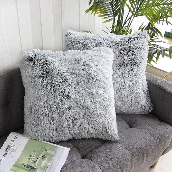 Uhomy 2 Packs Home Decorative Pillows