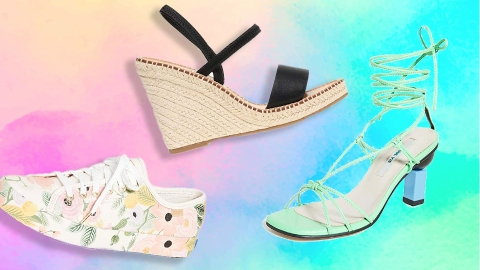 Amazon's Big Style Sale Is Overflowing With Chic Summer Shoes   StyleCaster