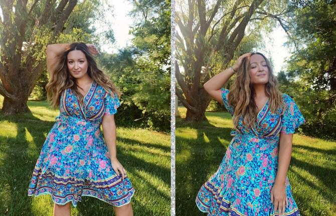 STYLECASTER | Amazon Zesica dress review