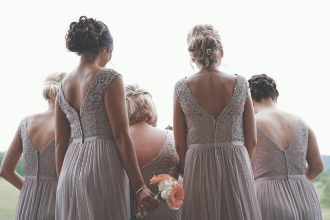 STYLECASTER | bridesmaid dress sizing