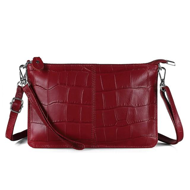 Befen Genuine Full Grain Leather Clutch