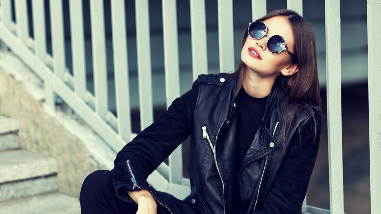 Faux Leather Motorcycle Jackets to Add to Your Wardrobe