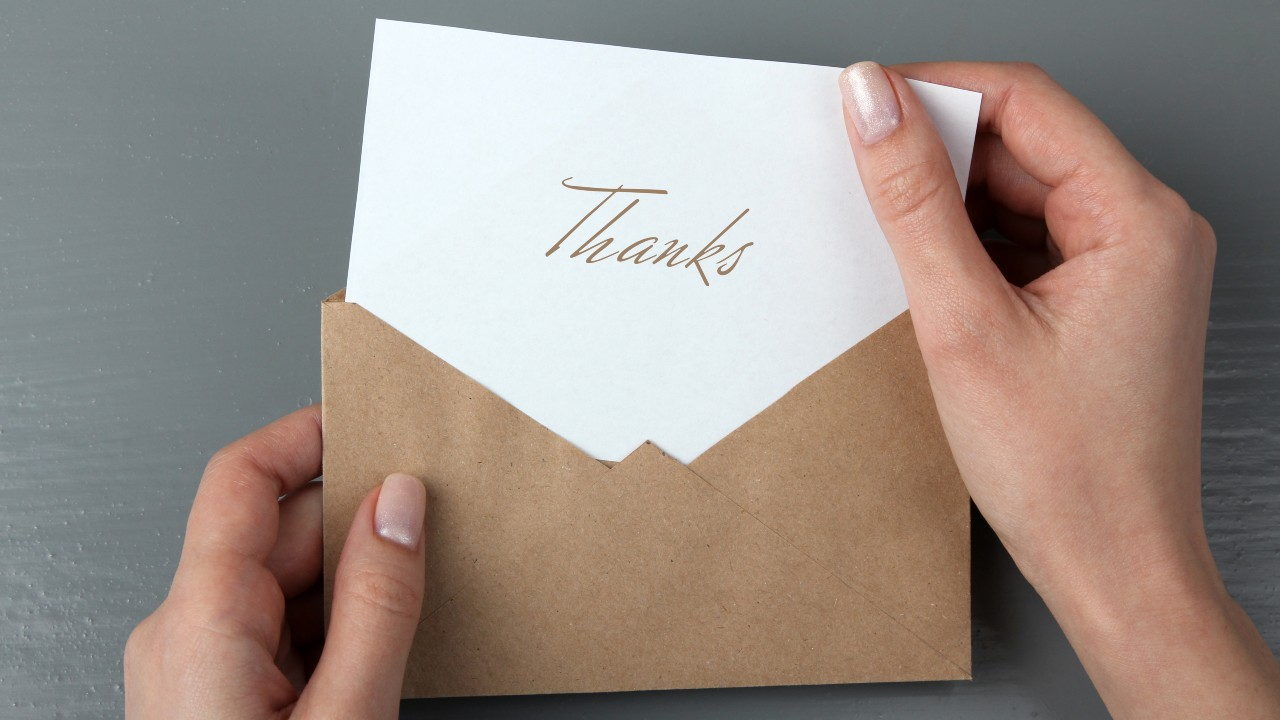 Cute Thank You Cards That You Can Use for Any Occasion