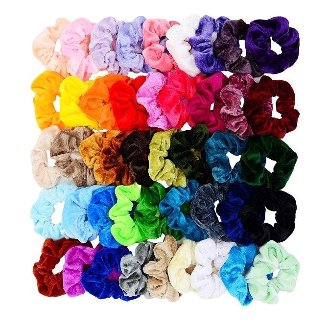colorful scrunchies amazon