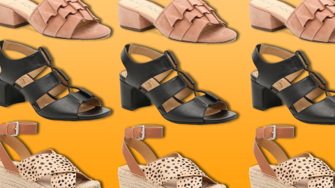 Shop These 10 Pairs Of Sandals (& More!) For 50% Off At DSW Right Now   StyleCaster