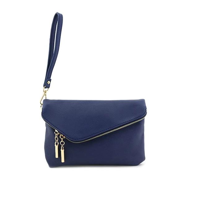 Envelope Wristlet Clutch Crossbody Bag