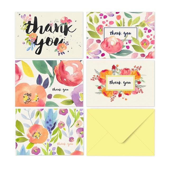 Fresh & Lucky Thank You Cards