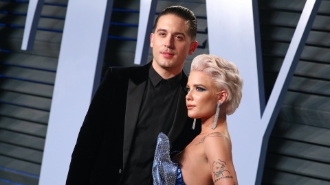 G-Eazy Fully Shaded Halsey on His New Album With Rumored Flame Ashley Benson | StyleCaster