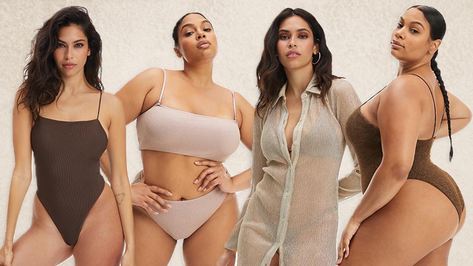Good American's New Swim Drop Has Me Ready To Sunbathe Like A Kardashian