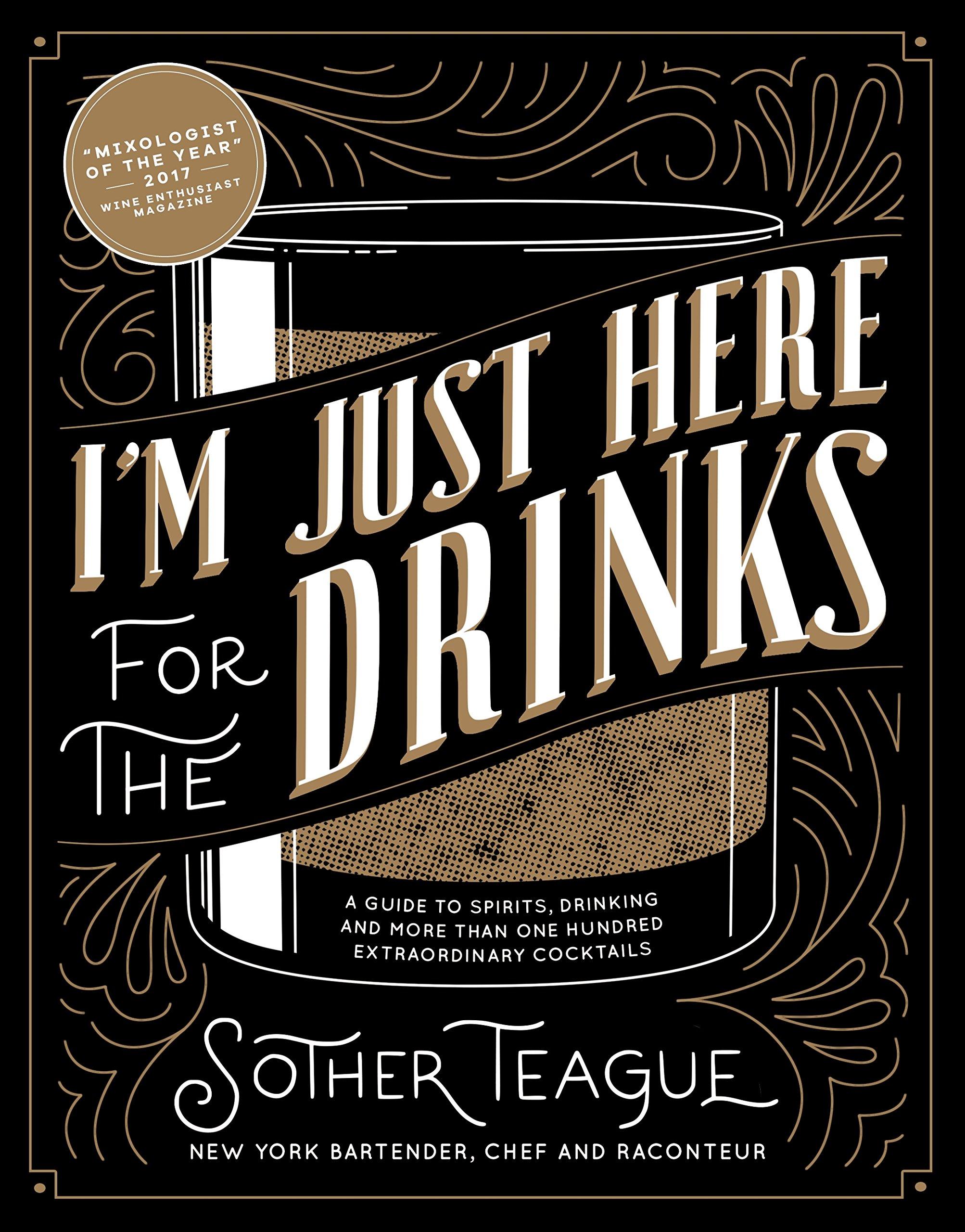 Sono qui solo per il libro di bevande Amazon